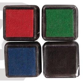 Mini Mascara stempelpude, sæt med 4