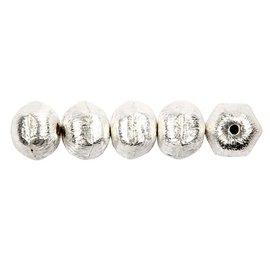 Schmuck Gestalten / Jewellery art talão exclusivo com furo transversal, D: 10 mm, tamanho do buraco 1 milímetro