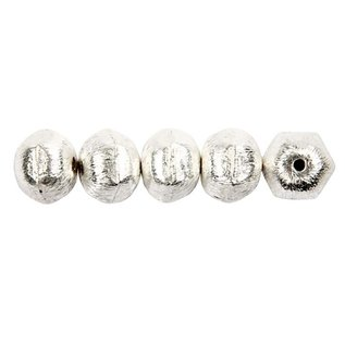 Schmuck Gestalten / Jewellery art Exclusive bead with transversal hole, D: 10 mm, hole size 1 mm