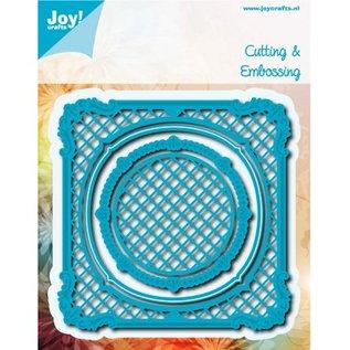 Joy!Crafts / Hobby Solutions Dies Stanz- und Prägeschablonen: Viereck mit Cirkel