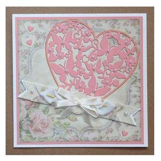 Joy!Crafts / Jeanine´s Art, Hobby Solutions Dies /  Stanz- und Prägeschablonen: Herz mit Schmetterlingen