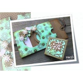 Joy!Crafts / Hobby Solutions Dies Stanz- und Prägeschablonen: Quadrat mit Herz