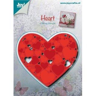 Joy!Crafts / Hobby Solutions Dies Stansning og prægning skabeloner: Hjerte med små hjerter