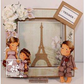 Joy!Crafts Stanz- und Prägeschablonen: Eiffelturm
