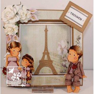 Joy!Crafts / Jeanine´s Art, Hobby Solutions Dies /  Skære- og prægeskabeloner: Eiffeltårnet