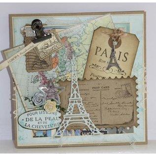 Joy!Crafts / Hobby Solutions Dies Skære- og prægeskabeloner: Eiffeltårnet