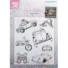 Joy!Crafts / Jeanine´s Art, Hobby Solutions Dies /  selo transparente: Auto - Männersache