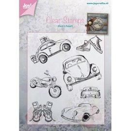 Stempel / Stamp: Transparent Transparant stempel: Auto - Männersache