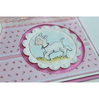 Stempel / Stamp: Transparent Gennemsigtige frimærker: forår, baby
