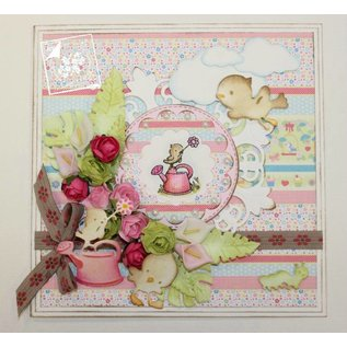 Joy!Crafts / Hobby Solutions Dies Gennemsigtige frimærker: forår, baby