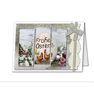 REDDY Complete Bastelset for 4 cards + envelopes