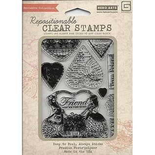 Stempel / Stamp: Transparent Transparent Stempel, Friend You're the Best