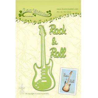 Leane Creatief - Lea'bilities Stanz- und Prägeschablonen, Gitarre