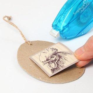Designer Papier Scrapbooking: 30,5 x 30,5 cm Papier 1 Designer Bow, 30,5 x 30,5 cm, met mooie Pasen motieven