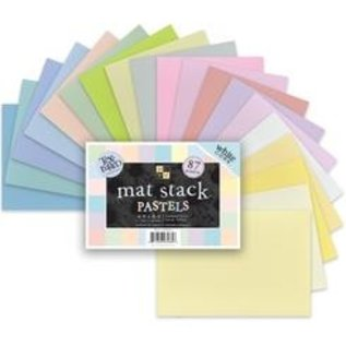 DCWV und Sugar Plum DCWV Designersblock, mat stack Pastels
