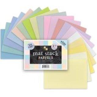 DCWV und Sugar Plum DCWV Designersblock, Pastels de la pile de tapis