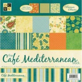 DCWV und Sugar Plum DCWV Designersblock, Café Méditerranée Matstack