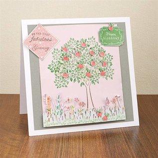 Stempel / Stamp: Transparent Transparante stempels, het bouwen van een boom