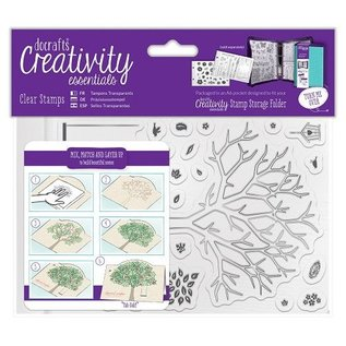 Stempel / Stamp: Transparent Transparent stamps, build a tree