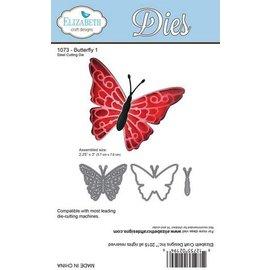 Taylored Expressions Skæring og prægning stencils: Butterfly