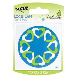 Docrafts / X-Cut Stanz- und Prägeschablonen, Lace Dies, Cut & Fold
