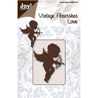 Joy!Crafts / Jeanine´s Art, Hobby Solutions Dies /  Stempling og prægning stencil, engel