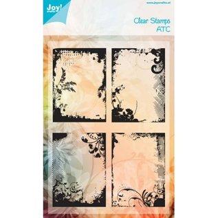 Joy!Crafts / Jeanine´s Art, Hobby Solutions Dies /  Gennemsigtige frimærker: ATC