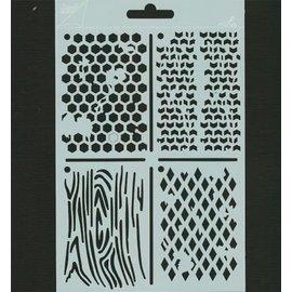 Pronty Polybesa Schablonen ATC, Stencil
