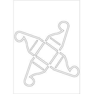 Dekoration Schachtel Gestalten / Boxe ... Poly Besa Stencil: praline box