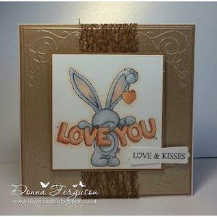 Crafters Company: BeBunni Gummi Stempel, BeBunni Thema: I Love You