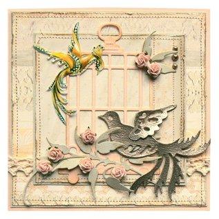 Marianne Design Stanz- und Prägeschablone, Vogel