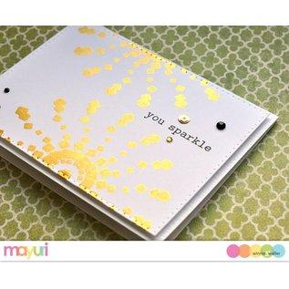 IndigoBlu Special lim til stempel teknik med metalliske plader og metalliske folier