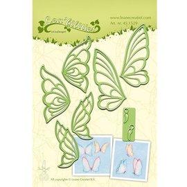 Leane Creatief - Lea'bilities Stansning og prægning skabelon, sommerfugle