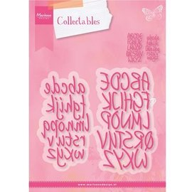 Marianne Design Corte e de estampagem estênceis, alfabeto Charming