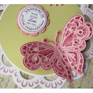 Marianne Design Cutting and embossing stencils + stamp motif