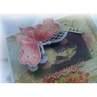 Marianne Design Coupe et de gaufrage pochoirs + motif de timbre