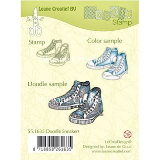 Stempel / Stamp: Transparent Gennemsigtige frimærker, Sneakers
