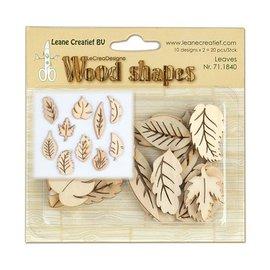 Objekten zum Dekorieren / objects for decorating Plader lavet af træ, 20 dele
