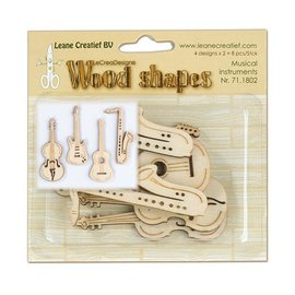 Objekten zum Dekorieren / objects for decorating Instrumentos Musicais de madeira