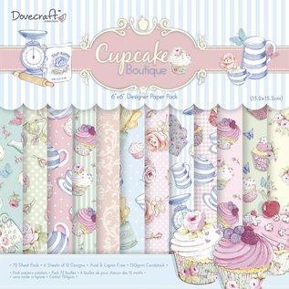 DESIGNER BLÖCKE / DESIGNER PAPER Bloquer Designer, Cupcake Boutique, 72 feuilles