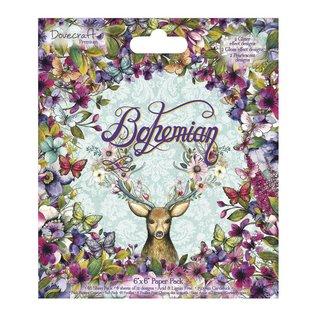 DESIGNER BLÖCKE / DESIGNER PAPER Designerblock, Bohemian, 48 Blatt