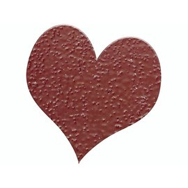 FARBE / STEMPELINK Embossing Powder 10g glitter ruby ​​red
