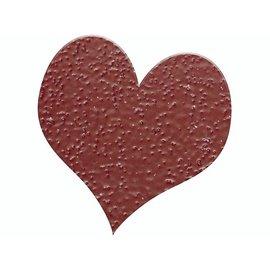 FARBE / STEMPELINK Embossing Puder 10g glitter rubin rot