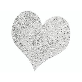 FARBE / STEMPELINK Embossing Powder 10g glitter zilver