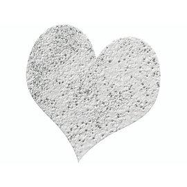 FARBE / STEMPELINK Embossing Pulver 10g glitter sølv