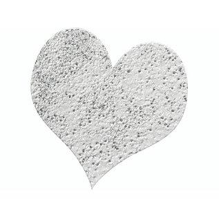 FARBE / STEMPELINK Embossing Puder 10g glitter silber