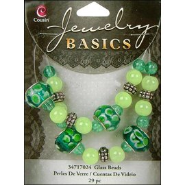 Schmuck Gestalten / Jewellery art Smykker håndværk sæt med glasperler