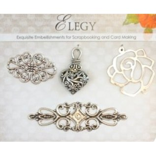Embellishments / Verzierungen Metal Charms Set