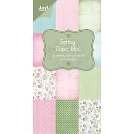 Joy!Crafts / Jeanine´s Art, Hobby Solutions Dies /  Designer Block, Printemps