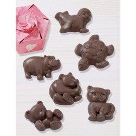 GIESSFORM / MOLDS ACCESOIRES Schokoladengießform: Animals